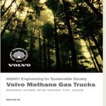 Volvo methane gas trucks