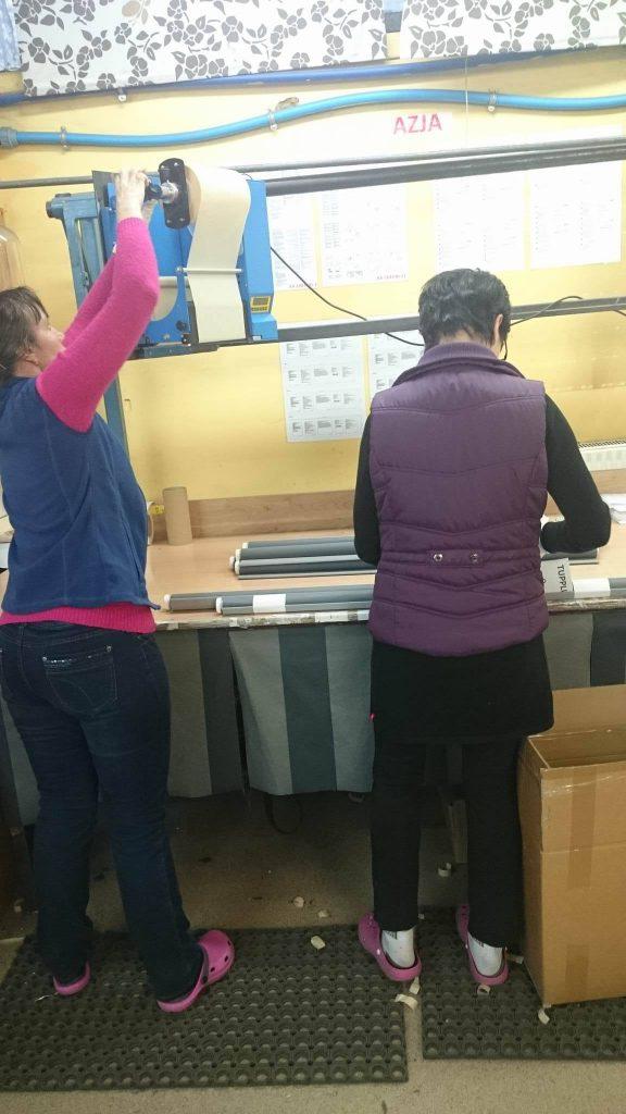 roller blinds production